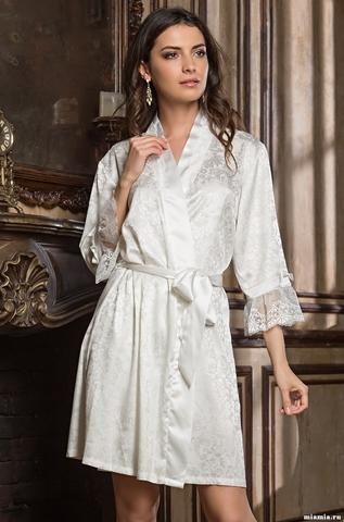 Короткий халат Mia-Amore 9533 ANGELINA