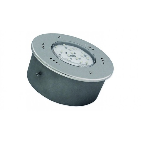 Светильник встраиваемый светодиодный D250, 54Вт/12В, белое свечение, нержавеющая сталь AISI-304, пленка XENOZONE