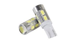 Габариты свет.T-10-10SMD(5630) с линзой, комп.