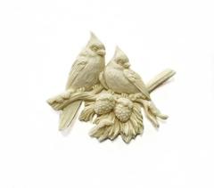 Пластиковый декор Птички