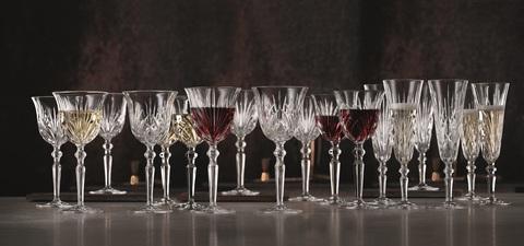 Набор из 18-и бокалов для вина Red Wine 230 мл + White Wine 213 мл + Champagne Glass 140 мл  артикул 103547. Серия Palais