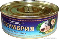 Скумбрия в масле (Кублей) 240 гр