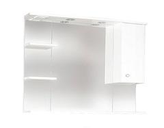 Зеркало-шкаф SanMaria Домус-90 короткое правое