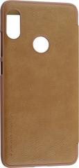 Чехол-книжка Nillkin Qin Leather Case для Xiaomi Mi8 коричневый