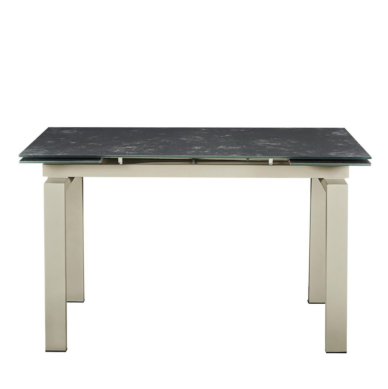 Стол обеденный PORT (130) BROWN/LATTE (коричневый/латте)