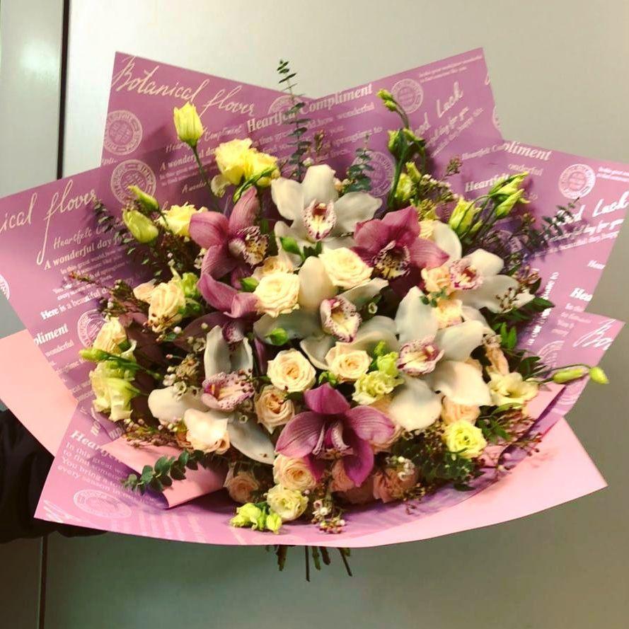 Букет с Орхидеями (Б-73)