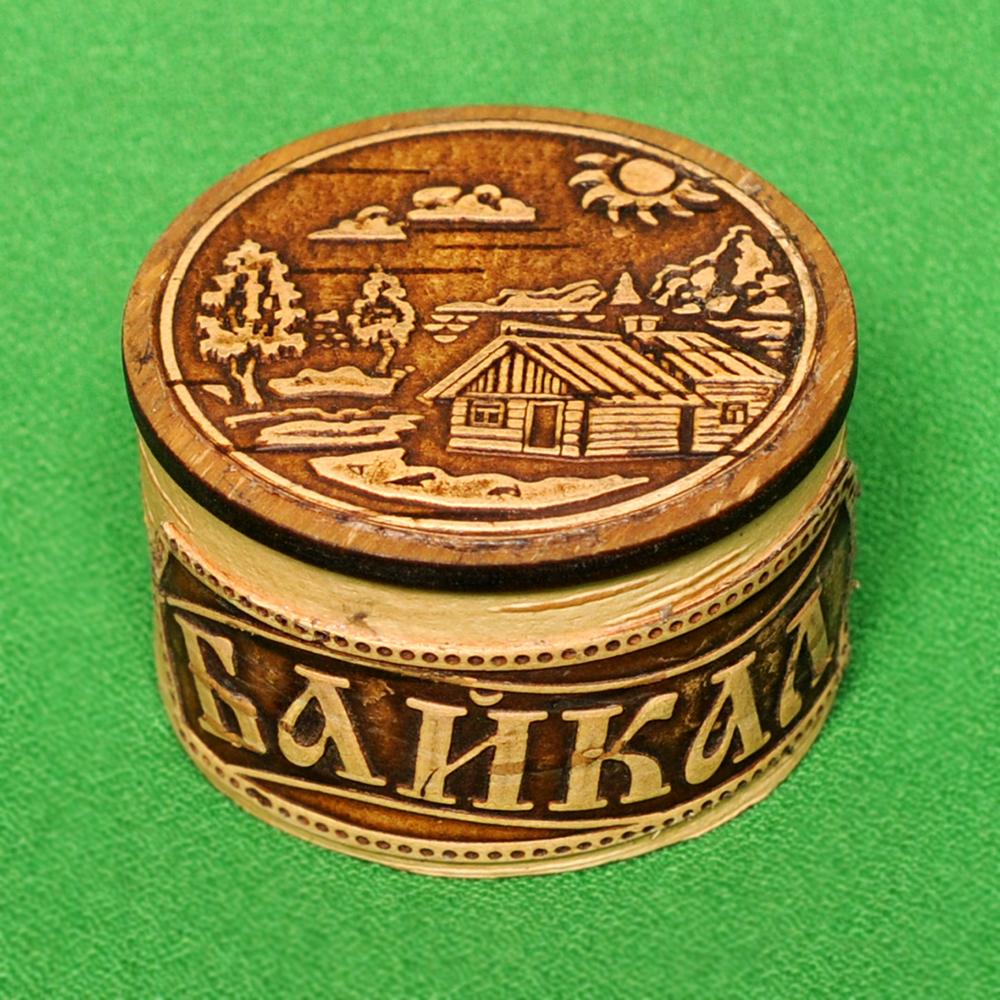 Шкатулка Байкальский пейзаж
