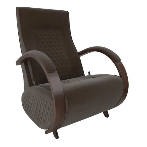 Кресло-глайдер Balance Balance-3 с накладками, орех/Verona Brown, 014.003