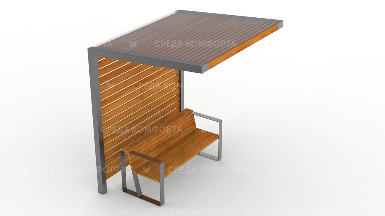 Скамейка с навесом SCAM0115