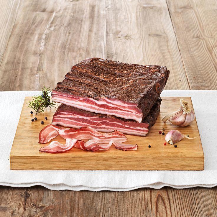 Фотография Грудинка свиная сыровяленная