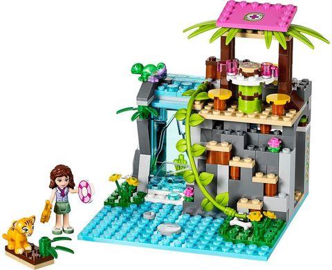 LEGO Friends: Спасение тигрёнка у водопада 41033 — Jungle Falls Rescue — Лего Френдз Друзья Подружки