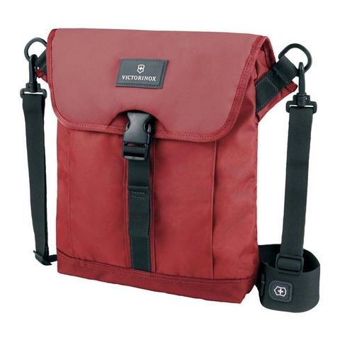 Сумка Victorinox Altmont 3.0 Flapover Bag, красная, 27x6x32 см, 5 л
