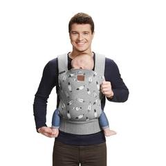 Рюкзак-переноска Kinderkraft Milo Grey