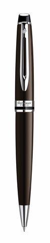 *Шариковая ручка Waterman Expert 3, цвет: Deep Brown CT, стержень: Mblu