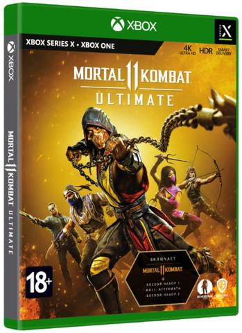 Mortal Kombat 11 Ultimate (Xbox, русские субтитры)