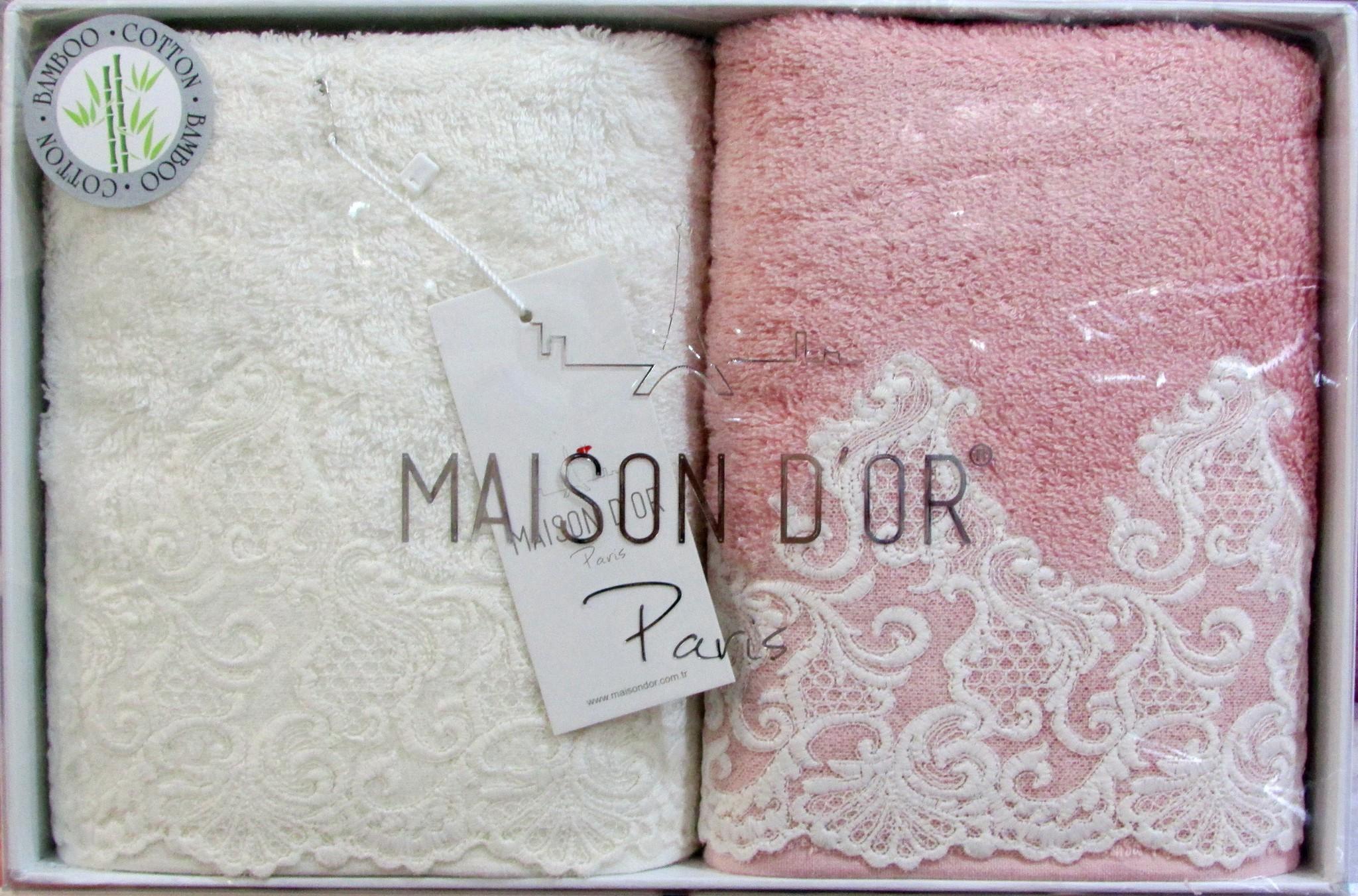 Наборы полотенец Набор полотенец  JASMIN  ЖАСМИН 2пр 50х100 Maison Dor Турция жасмин_2_1.jpg