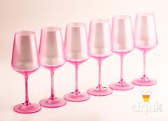 Набор из 6 бокалов для вина «Sandra», 350 мл, фото 2