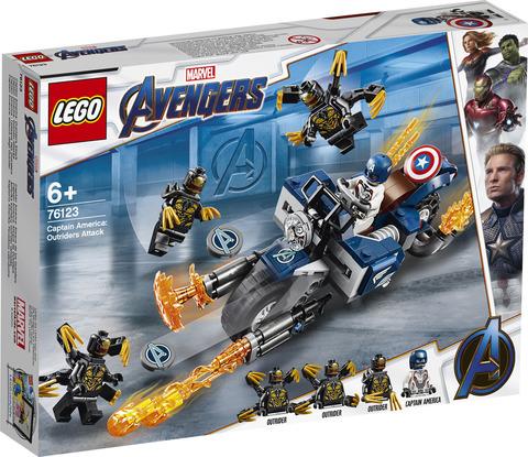 LEGO Super Heroes Marvel Avengers Капитан Америка