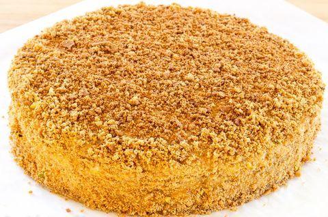 Натуральный безглютеновый торт «Наполеон»