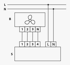 Переключатель скоростей П3-5,0 Н(В)