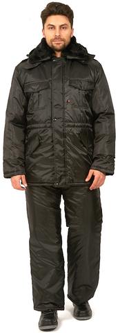 Куртка Охранник, зимняя , цв.черный