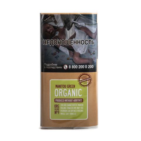 Табак сигаретный Manitou Organic Green n9 30 гр