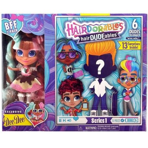 Кукла-сюрприз HairDUDEables 1 серия Мальчик и ДиДи