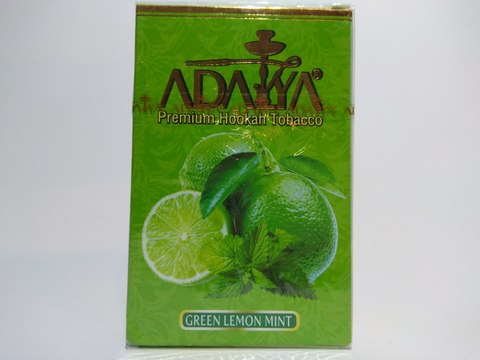 Табак для кальяна ADALYA Green Lemon Mint 50 g