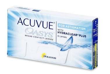 Acuvue Oasys for astigmatism CYL -1,25