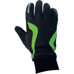 Перчатки JAFFSON WCG 43-0476 (чёрный/зелёный)