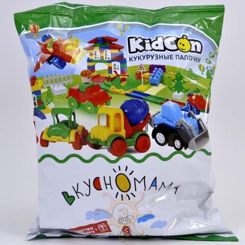 Кукурузные палочки KidCon с игрушкой Вкусномама, 40г
