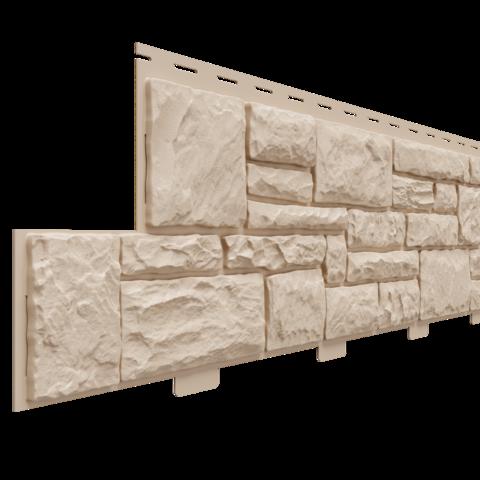 Фасадные панели (Цокольный Сайдинг) Доломит Крымский Берег Орех
