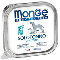 Monge Monoprotein Dog All Breeds Solo Tonno Only Tuna