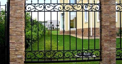 Кованый забор N-1