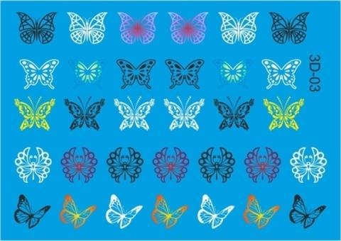 Бабочки и фрукты