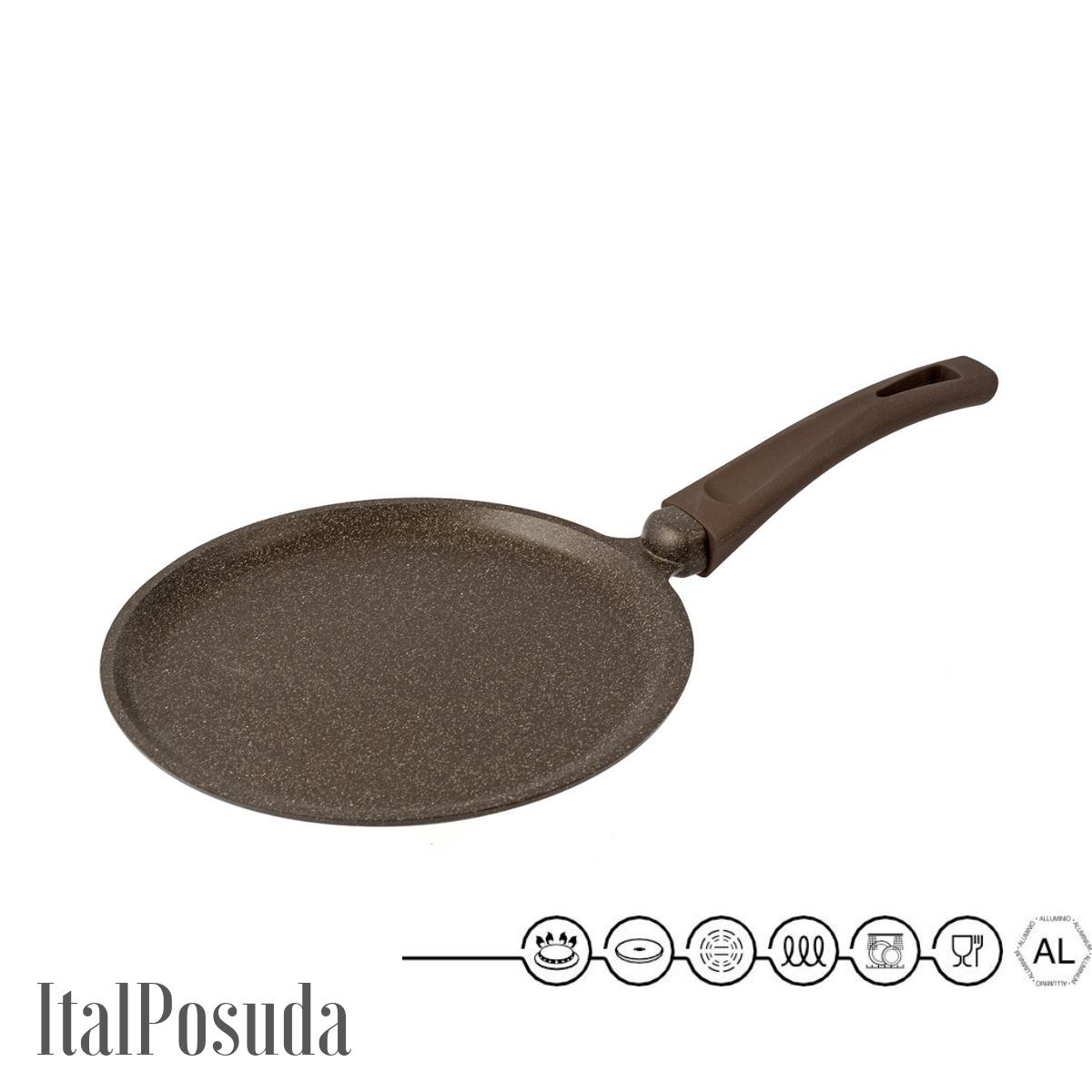 Блинная сковорода TIMA Мускат, индукционная, 24 см
