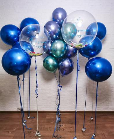 Оформление праздника шарами