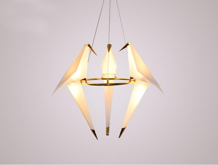 Подвесной светильник копия PERCH by Moooi (3 плафона)