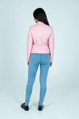 Куртка розовая кожаная косуха интернет магазин