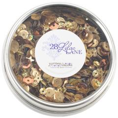 Пайетки 28 Lilac Lane Tin W/Sequins 40g Not So Heavy Metal