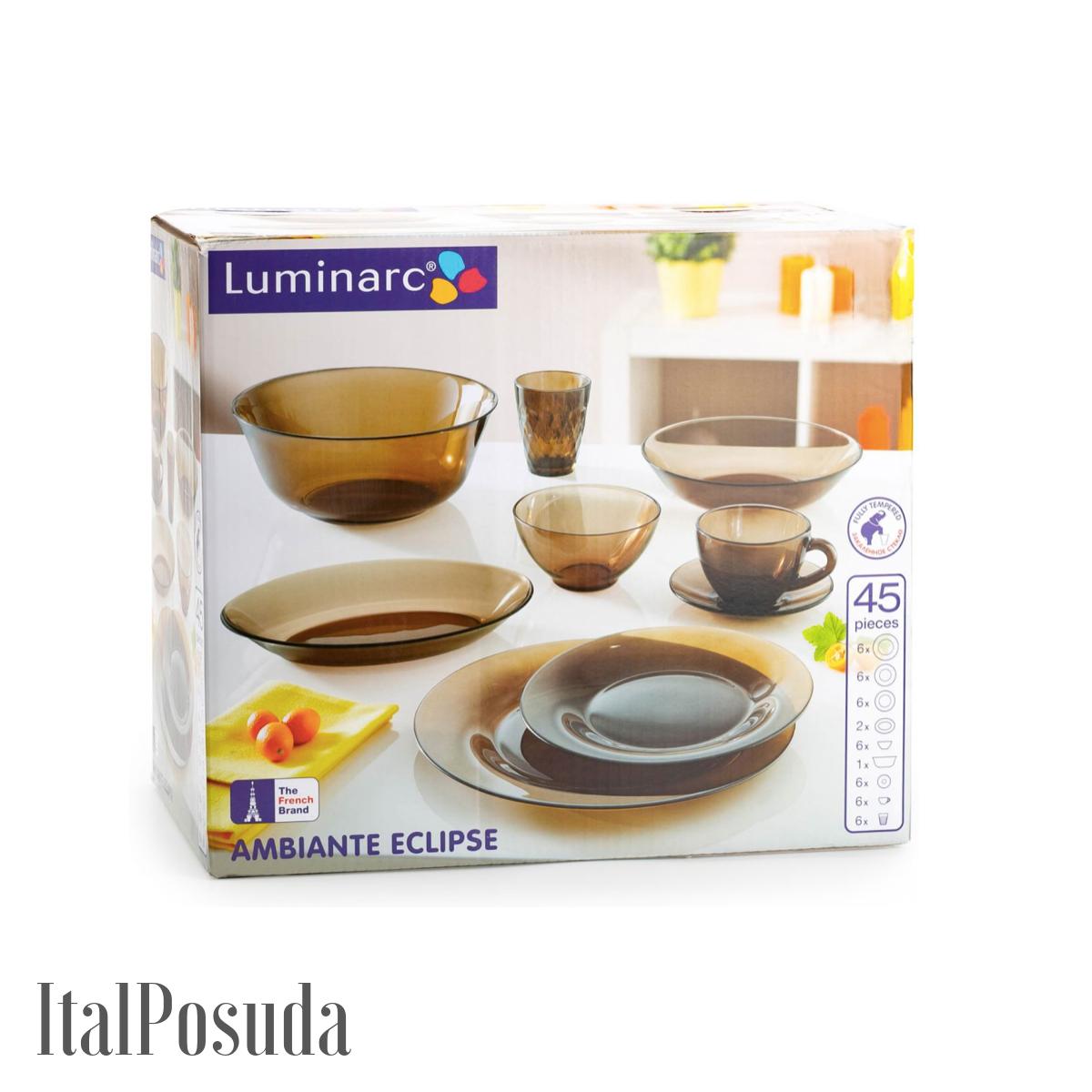 Столовый сервиз Luminarc Ambiante Eclipse 45 предметов L5181
