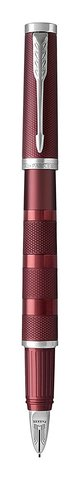 Ручка-5й пишущий узел Parker  Ingenuity Deluxe Large Deep Red PVD123