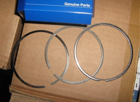 Поршневые кольца комплект / PISTON RING KIT АРТ: 998-400