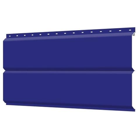 Евробрус сайдинг металлический RAL 5002 Синий ультрамарин