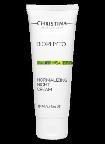 Сhristina Нормализующий ночной крем |Bio Phyto Normalizing Night Cream