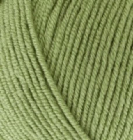 Пряжа Baby BEST Alize 485 Зеленая трава