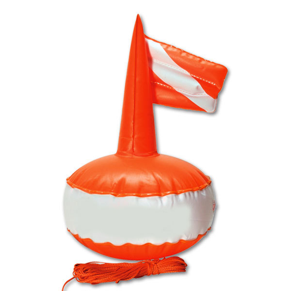 Буй Omer Пвх круглый с надувным флагом