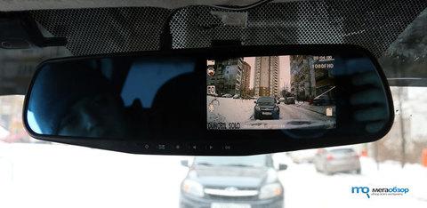 Автомобильный видеорегистратор Dunobil Spiegel Solo