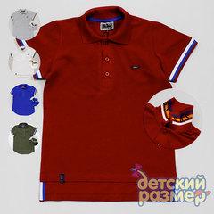 Рубашка-поло (надпись на воротнике)