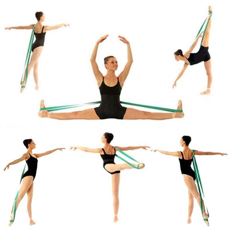 Упражнения с лентой для растяжки